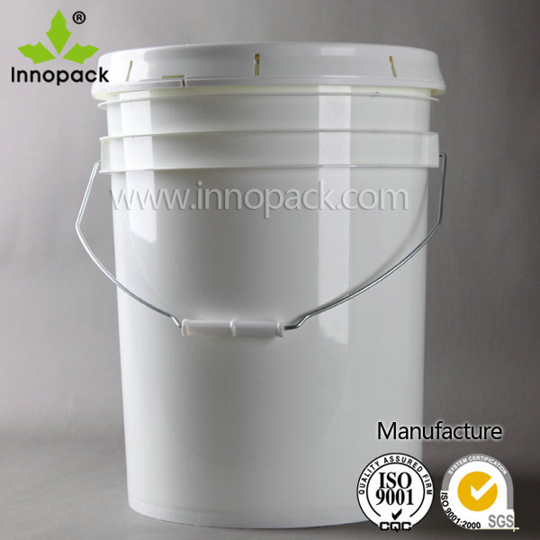 Wholesale 5 Gallon Plastic Paint Bucket Pail With Lid And Handle