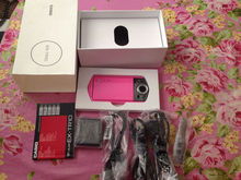 Casio TRYX Exilim Ex-tr10 TR300 Digital Camera Pink