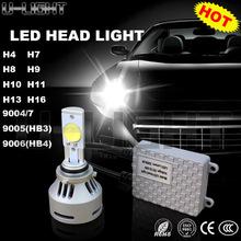 USA customized chip ,72w car led headlight bulbs 9005/HB3 9006/HB4 80w h7 auto headlight led car headlight , 2years warranty