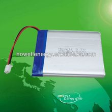 High capacity lithium polymer battery for power bank