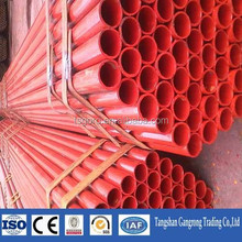 concrete scaffolding steel pipe, steel tube prices china supplier