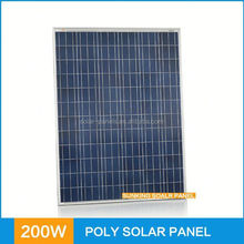 Factory Price OEM High Quality Portable 200w pv solar panel