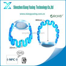 Plastic ISO15693 I CODE 2 RFID wristband