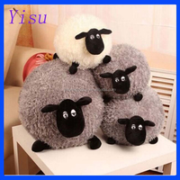 """Metoo Bell Sheep Plush Stuffed Toy Animals Puppets, Large 13"""" 1PCS Red"""