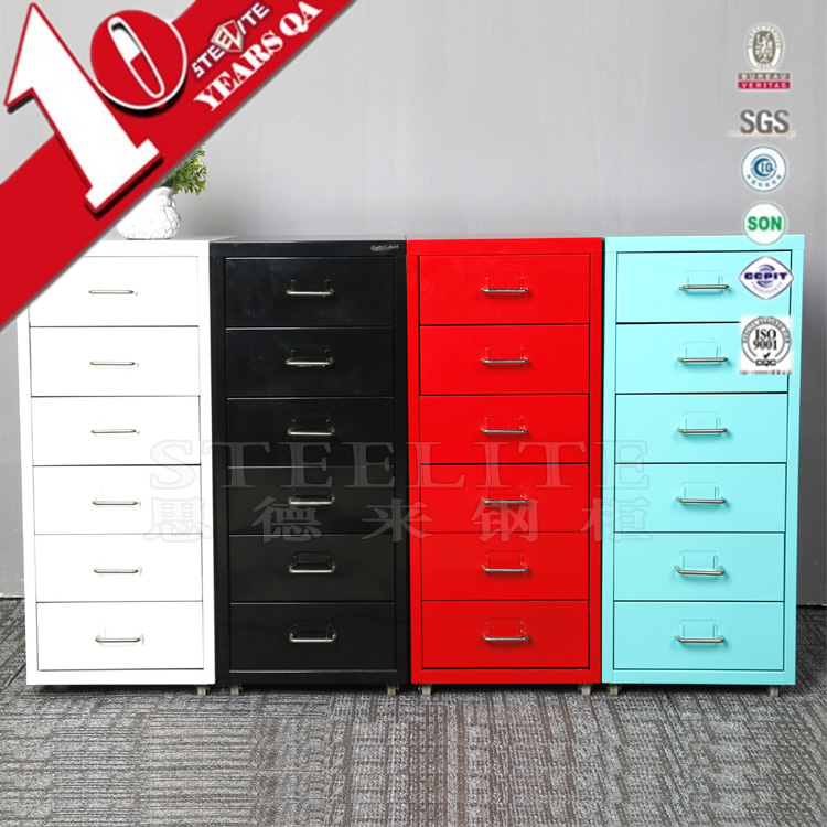 Specifications Of Custom Made Multi Drawer Index Card File Cabinet / Helmer  6 Tier Drawer Of Chest