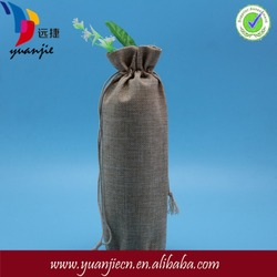 High quality hotsell jute wine tote bag
