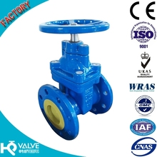 DIN F4 Resilient seated non-rising stem gate valve