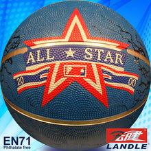 Rubber basketball new style big black rubber balls