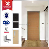 Fireproof wood door, interior entry fireproof door, fire door wood design