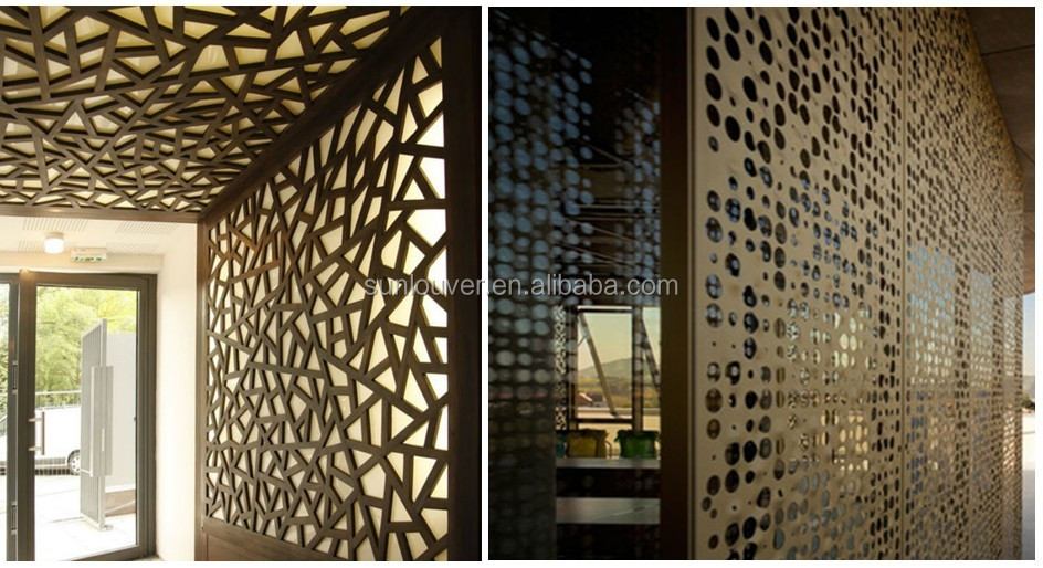 Architectural Decorative Perforated Metal Screen Buy Decorative Perforated Metal Screen