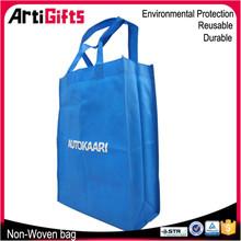 Fashion promotion laminated non woven tote bag