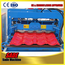 828 glazed roofing tile making machine price