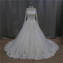 Lace straps sheer wedding gown 2012
