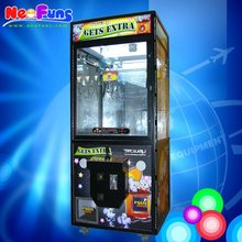 "Popular 31"" Gets Extra Double Claw Candy And Plush Toy Catch Game Machine"