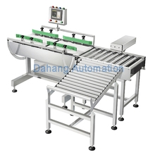 weight inspection system, online checkweigher/checkweigh/weight checker