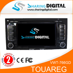 VW TOUAREG 2 din autoradio with DVB-T