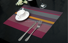 Modern simple PVC table mat