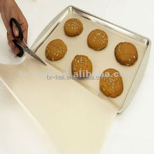 Ptfe cozinhar reutilizável forro pergaminho papel manteiga para cozinhar livre de gordura