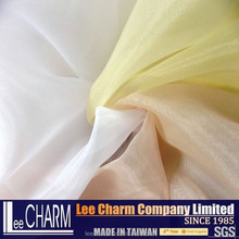 Plain Dyed Organza Voile Fabric for Bridal Gown