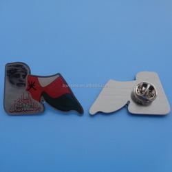 Oman national day gifts metal lapel pins,Oman 45th national flag metal badge