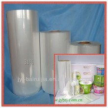 Eco-friendly polyolefin pof shrink film plastic wrap