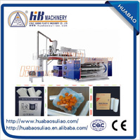 High-speed 2000mm three-layer/five-layer co-extruded cast stretch film line/machine