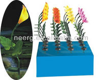 16-PC (PDQ) Mixed Floor Display Fiber Optic Flower Solar Stick Light