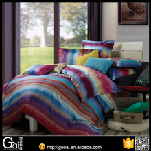 GUOAI 100% Egyption Cotton Print Bed Cover Set Bed Sheets Manufacturers in China