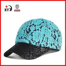 Chesp wholesale 2015 polyester lace floral fashion cap hat