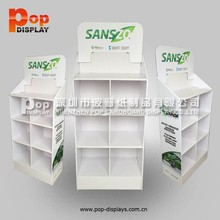 tableware showing standing,temporary custom design cardboard display,toy case for samsung galaxy s3