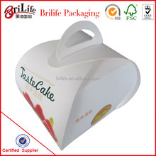 Customize Top Quality Fancy Paper Cupcake Box Packaging In Shanghai