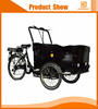 charging 5 hours three wheel pedal cargo bicycle for transporting
