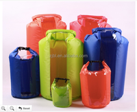 Polyester light dry bag with transparent window 25L
