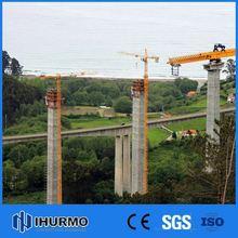 High Standard 6t capacity lifting arm crane of qtz63(5610) construcion tower crane in china