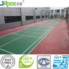 good impact resistance badminton court covering material