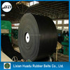 High adhesion,good wet strength and trough ability textile conveyor belt EP rubber belting for terminal seaports