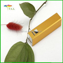 Easy Carry 2600mah Rechargeable Portable Power Bank With USB Cable Perfume 2600MAH Power Bank Gift in promotion