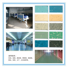 China PVC plastic flooring for tranining center and library