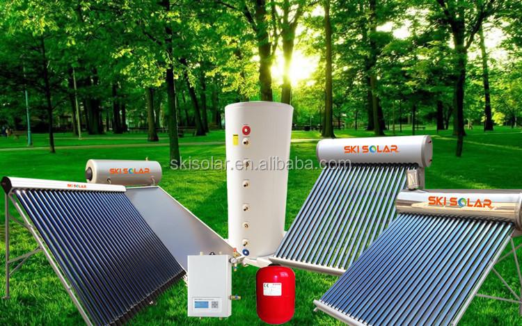 Marché brésilien non pression compact chauffe - eau solaire