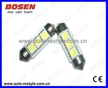 Canbus Auto LED bulb Festoon C5W, no errors in BMW, BENZ, AUDI cars