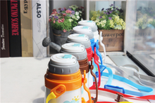 oem colorful portable promotional gift children stainless vaccum jug