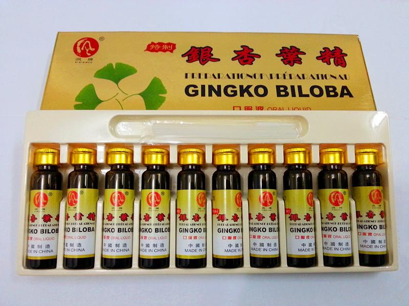 GMP Сертифицированных высокая quanlity Травяной экстракт С гинкго билоба ротовой жидкости