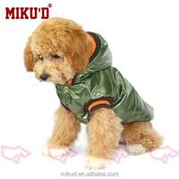2015 fashion Coral Fabric waterproof Dog Coat