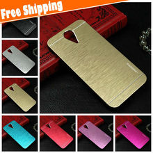 Luxury Metal Case For HTC 620,ultra thin motomo Brushed Aluminum+PC Hard metal case For HTC desire 620 Phone Case Back Cover