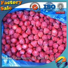 Frozen fruit! IQF strawberry with sugar /Frozen whole strawberry/ Sweet Frozen strawberry