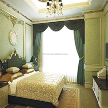 polyester blackout arabic curtains for home