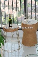 Natural cork bar stool