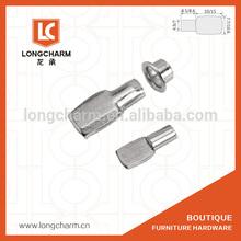 Parafusos de metal prateleira do armário de suporte do pino M5 M7 prateleira de madeira do armário suporte de Hardware Guangzhou