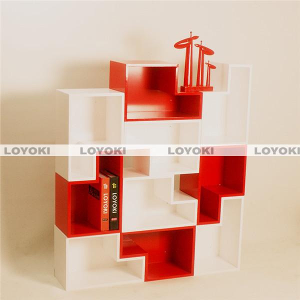 decor wall cube shelf decorative panel carved wood