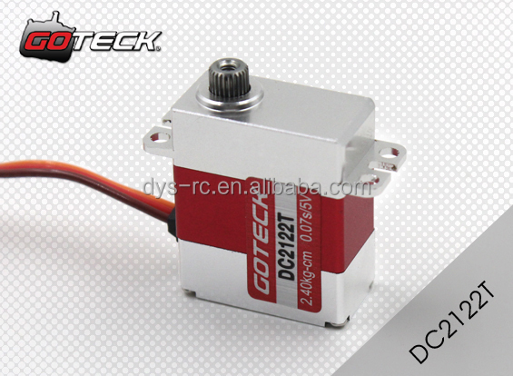 Goteck mini size high speed low torque dc servo motor for High speed servo motor